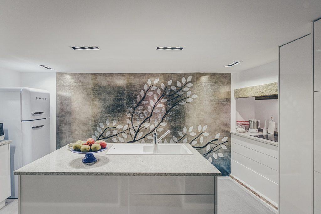 Gem Lisbon Rental Apartment, Deco Gem, Luxury in Bica, beautiful kitchen