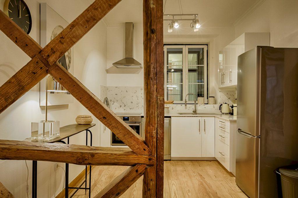 Gem Lisbon Rental Apartment, Master Historical Gem in Chiado, kitchen