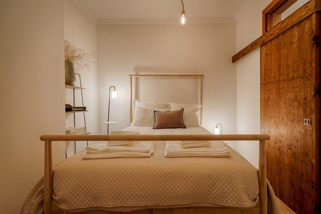 Gem Lisbon Rental Apartment, Master Historical Gem in Chiado, bedroom