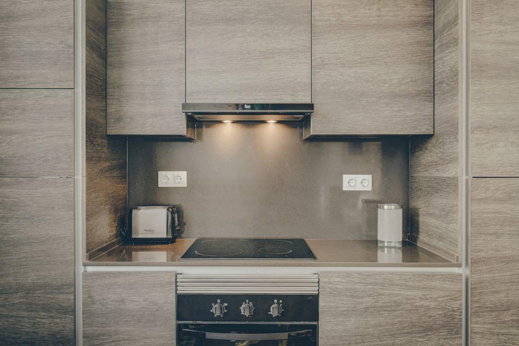 Gem Lisbon Rental Apartment, Architectural Gem in Baixa, Downtown, modern kitchen