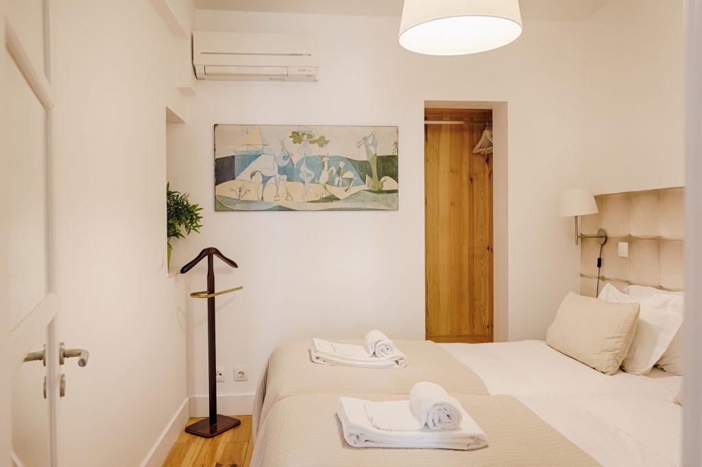 Gem Lisbon Rental Apartment, Historical Gem in Trendy Chiado, bedroom