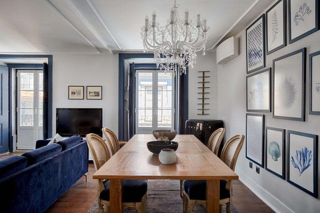 Gem Lisbon Rental Apartment, Master Deco Gem in Baixa, dining room