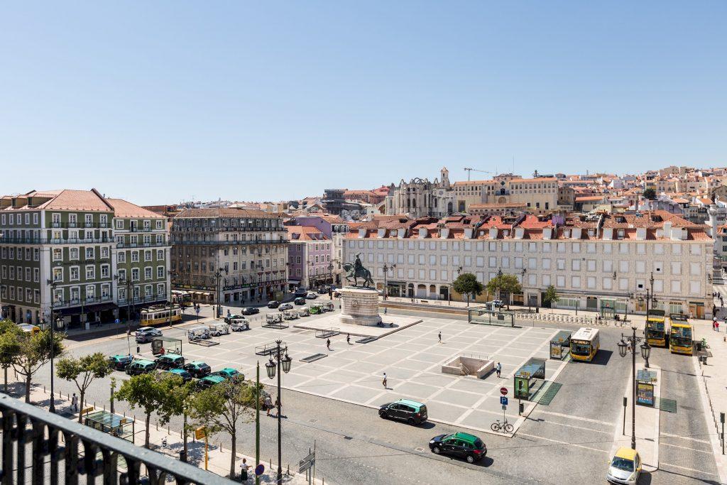 Gem Lisbon Rental Apartment, Master Deco Gem in Baixa, exterior, Lisbon square, Praça da Figueira