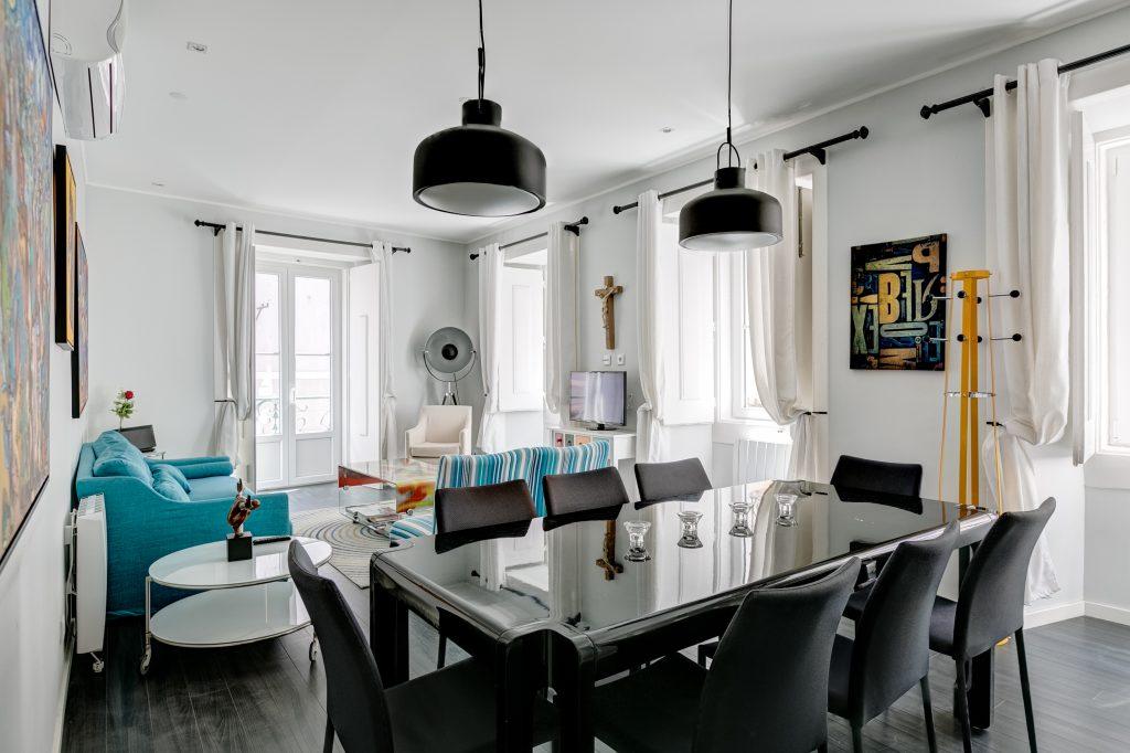 Gem Lisbon Rental Apartment, Master Deco Gem in Bairro Alto, living room