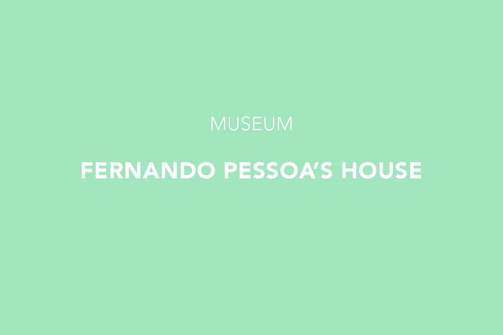 Fernando Pessoa's House Museum, Lisbon, Estrela, Lisboa