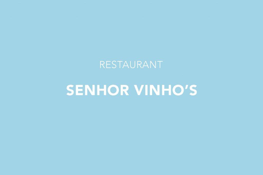Senhor Vinho's Restaurant, Lisbon, Santos, Lisboa