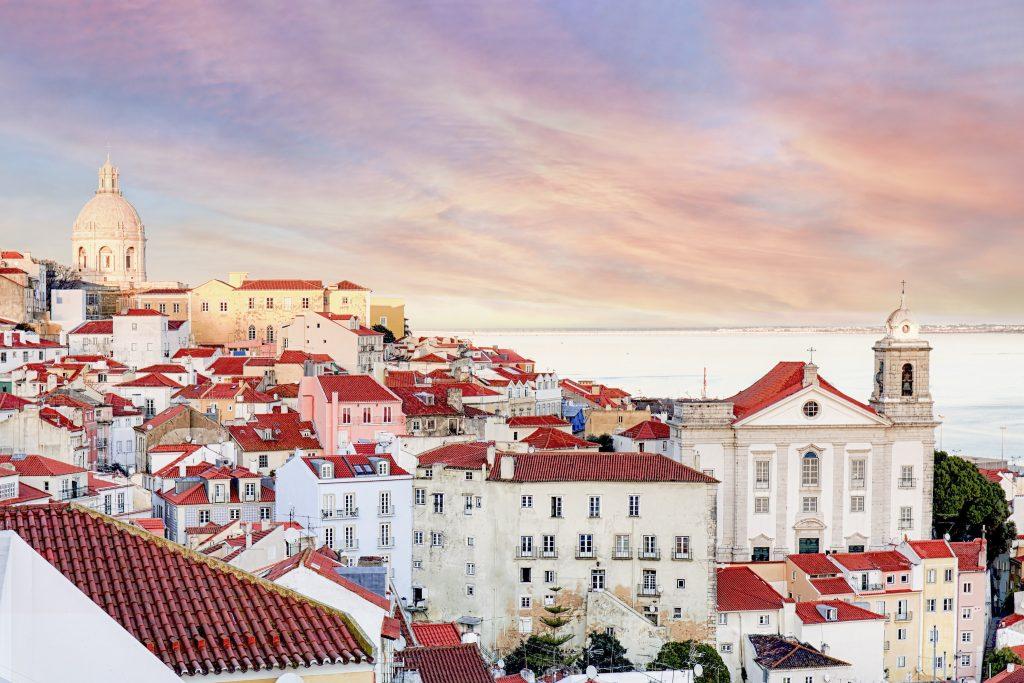 Alfama typical Lisbon Neighbourhood