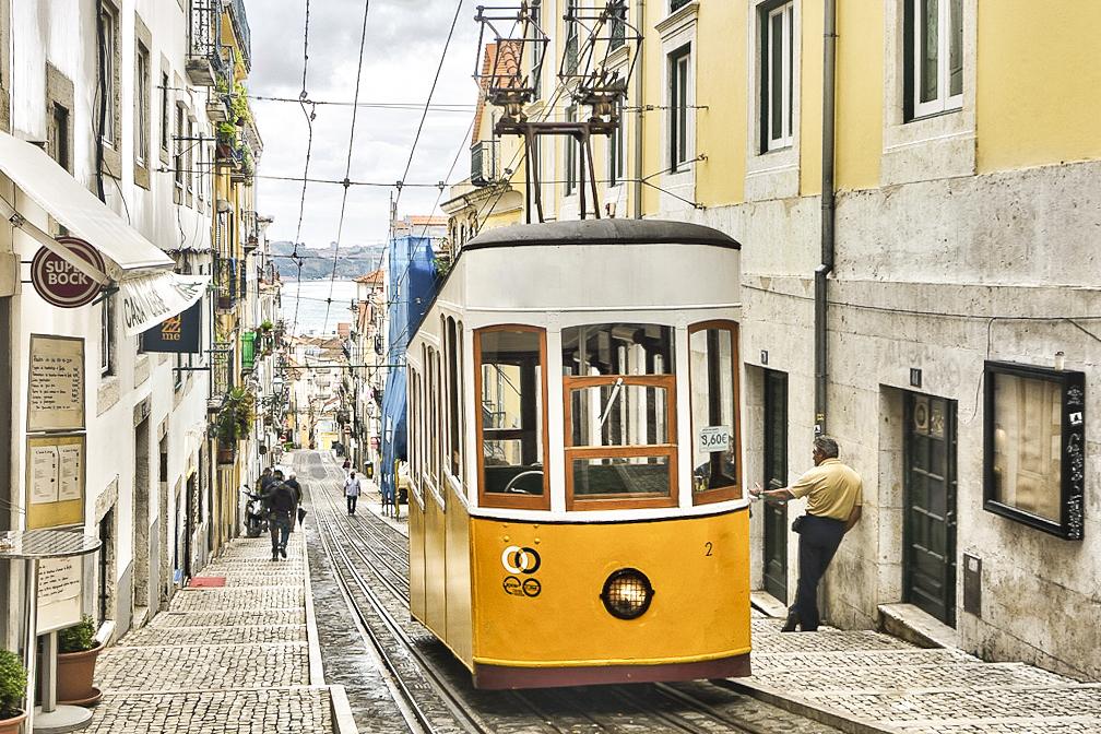 Bica Funicular Lisbon